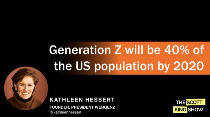 Marketing to Generation Z – Kathleen Hessert on the Scott King Show