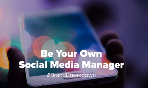 Be Your Own Social Media Manager